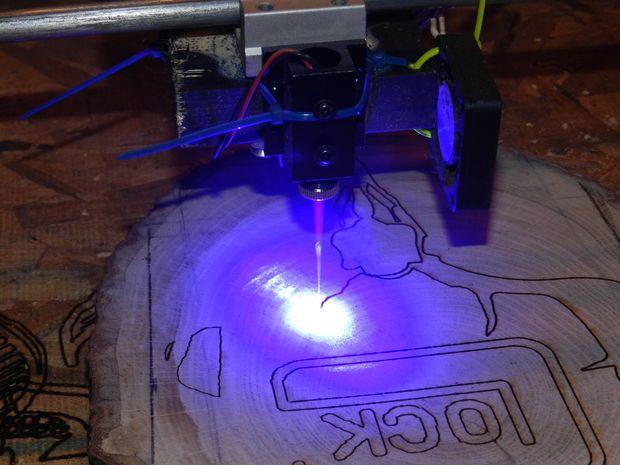 3W 4'x4' Arduino Laser Cutter/Engraver