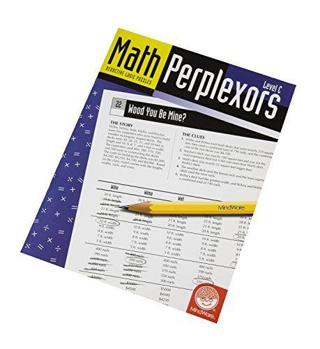 Math Perplexors: Deductive Logic Puzzles, Level C, Grades... https://www.amazon.com/dp/1933054646/ref=cm_sw_r_pi_dp_x_QWfjyb55RG0PF