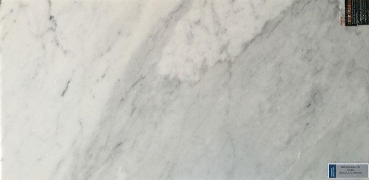 Personal Selection Floor & Wall Tile - Bianco Carara Polished Marble