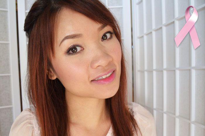 Hướng Dẫn Trang Điểm Màu Hồng Xinh Xắn Với Môi Ombre Cho Tháng 10 Chống Ung Thư Vú #lamdep #trangdiem #bbloggers #beautyblogger #huongdantrangdiem