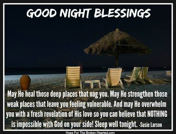 Good Night Blessings Images And Quotes: Quotes & Sayings