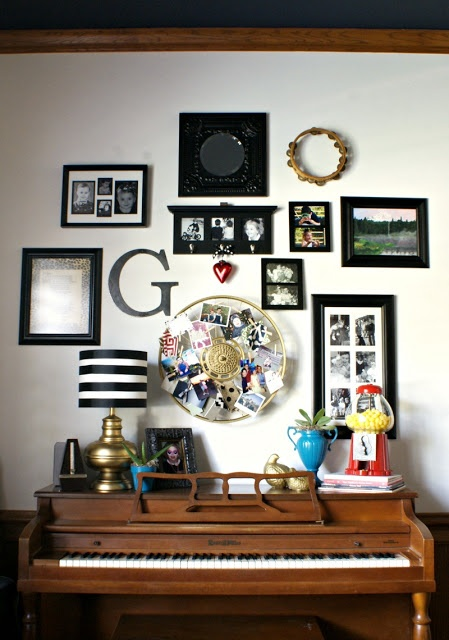Decorating A Wall 70 best above piano decor images on pinterest | piano room, the