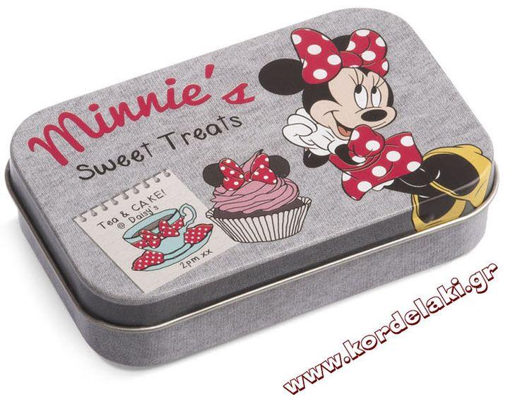 Κουτί μεταλλικό minnie mouse για μπομπονιέρα βάπτισης, στολισμούς, κατασκευές, διακοσμήσεις ή οτιδήποτε έχετε φανταστεί.