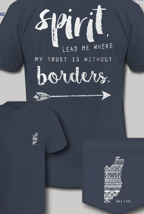 Belize Mission Trip Fundraiser T Shirt (Size Large Only)