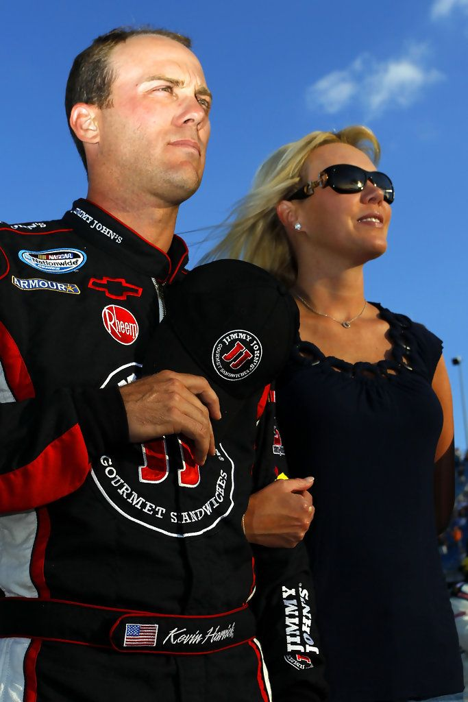Kevin Harvick and DeLana Harvick Photos - Dollar General 300 - Zimbio