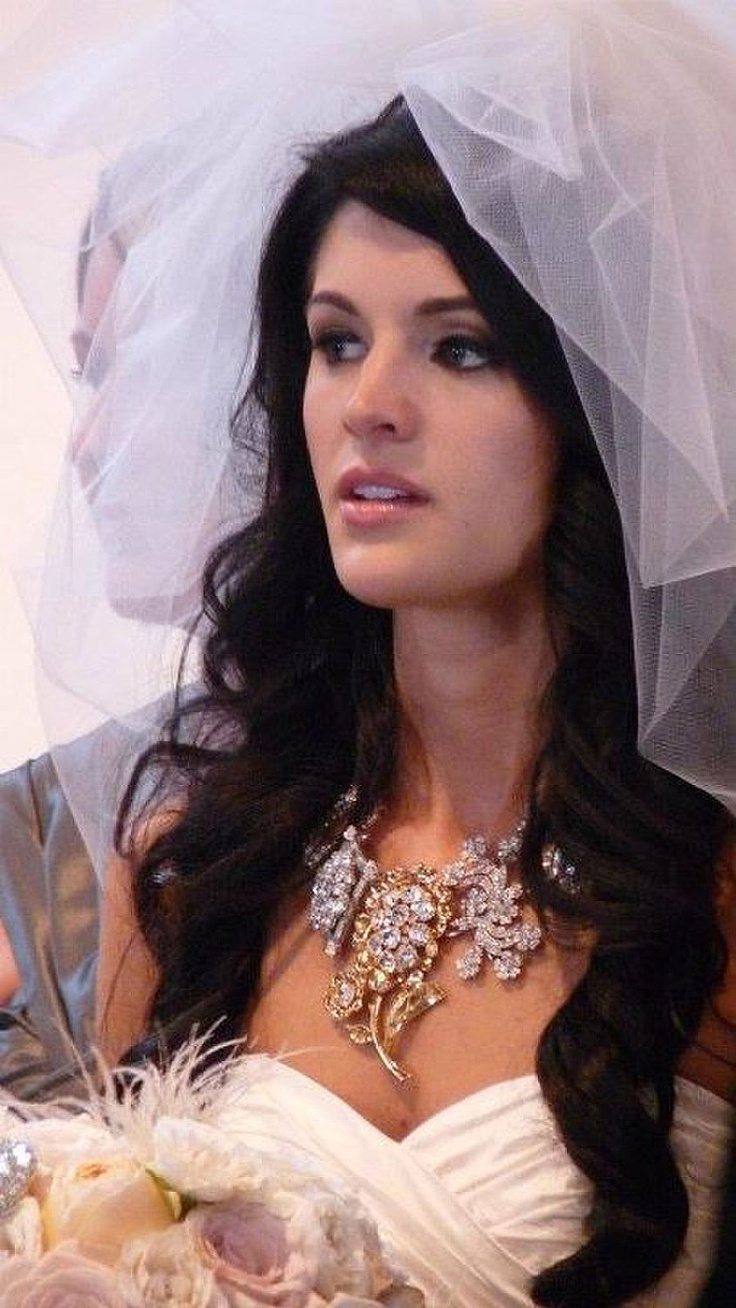 Items Similar To Bubble Veil Ivory Wedding With Train Poofy Fingertip On Etsy