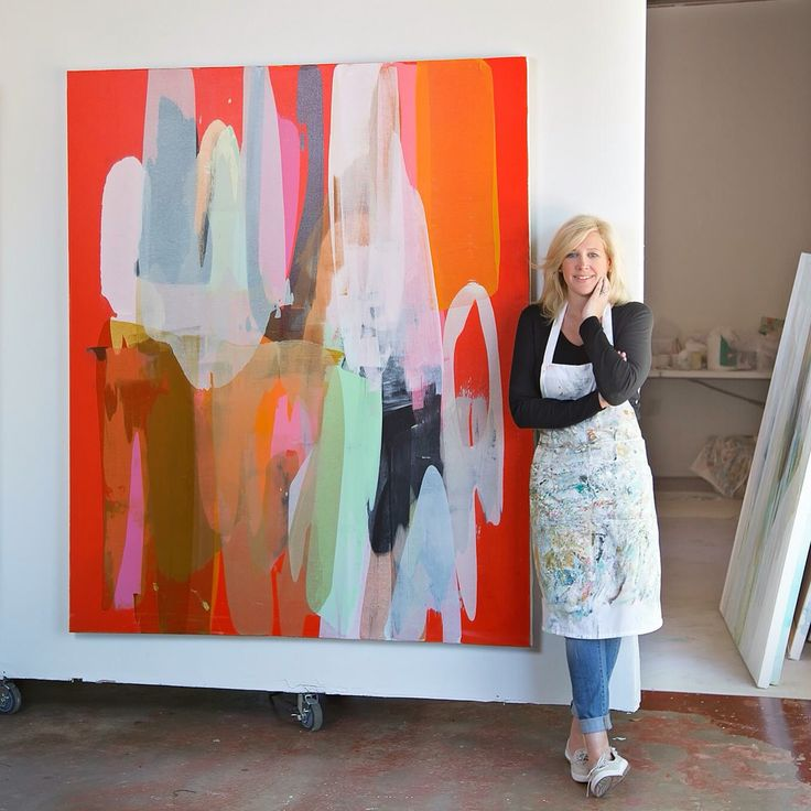 Lynn Sanders in Studio
