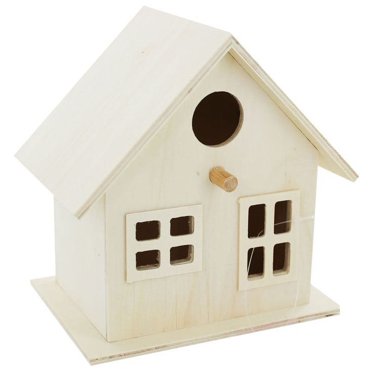 Wooden Birdhouse from The Works £2