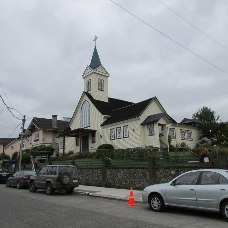 Iglesia Luterana de Frutillar. Chile.