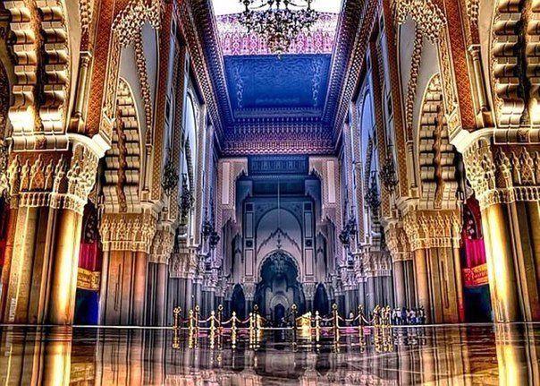 Мечеть Хасана II, #Касабланка, #Марокко.