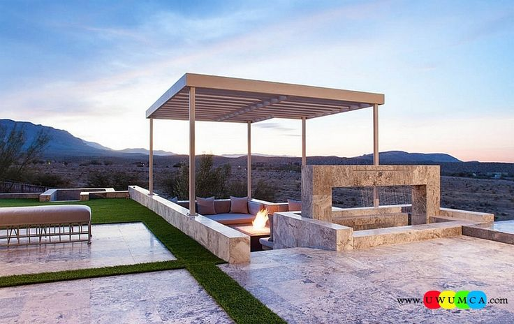 Outdoor / Gardening:Create Outdoor Lounge With Sunken Seating Area Ideas Build Conversation Pits Sunken Sitting Areas In Pool Garden Outside Decor Design Dynamic Interplay Between Different Levels Of The Patio Elevate The Style Quotient Of Your Outdoor Lounge With Sunken Seating Area