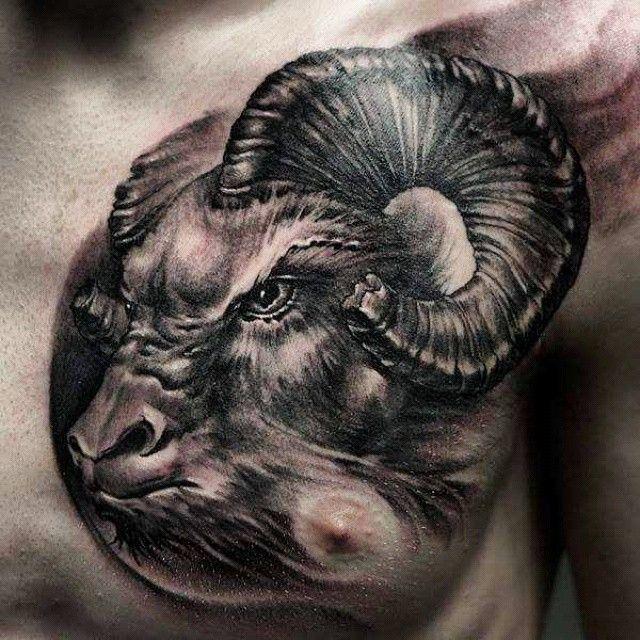 awesome aries tattoos - http://4develop.com.ua/aries-tattoos/ Check more at http://4develop.com.ua/aries-tattoos/