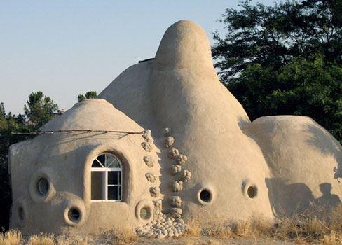 Casa de TERRA! #adobe #casas #arquitectura #construcción #casaecologica