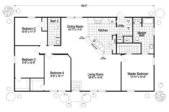 16 best homes images on pinterest home floor plans for Santa fe floor plans