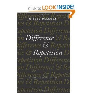 Amazon.com: Difference and Repetition (9780231081597): Gilles Deleuze, Paul Patton: Books