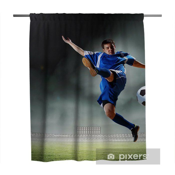 Football Shower Curtains Di 2020 Hidup Sehat