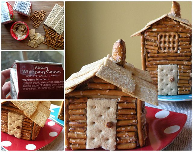Mrs. Fields Secrets Presidents Day Log Cabins | Fun Activity for President's Day