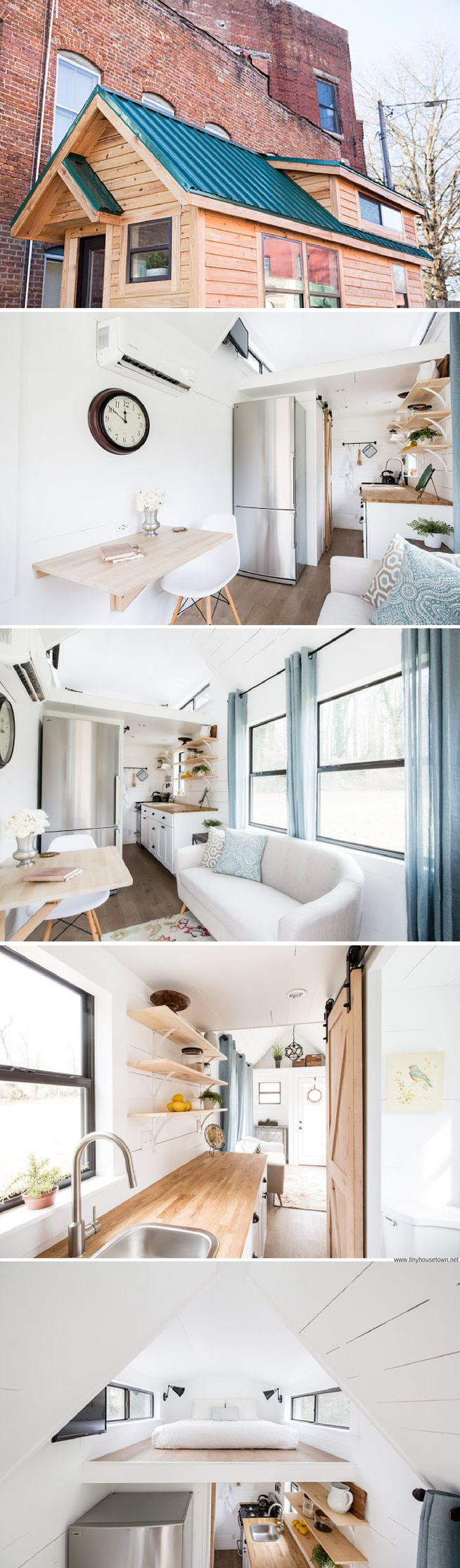 509 best Tiny homes images on Pinterest | Home ideas, Small spaces ...