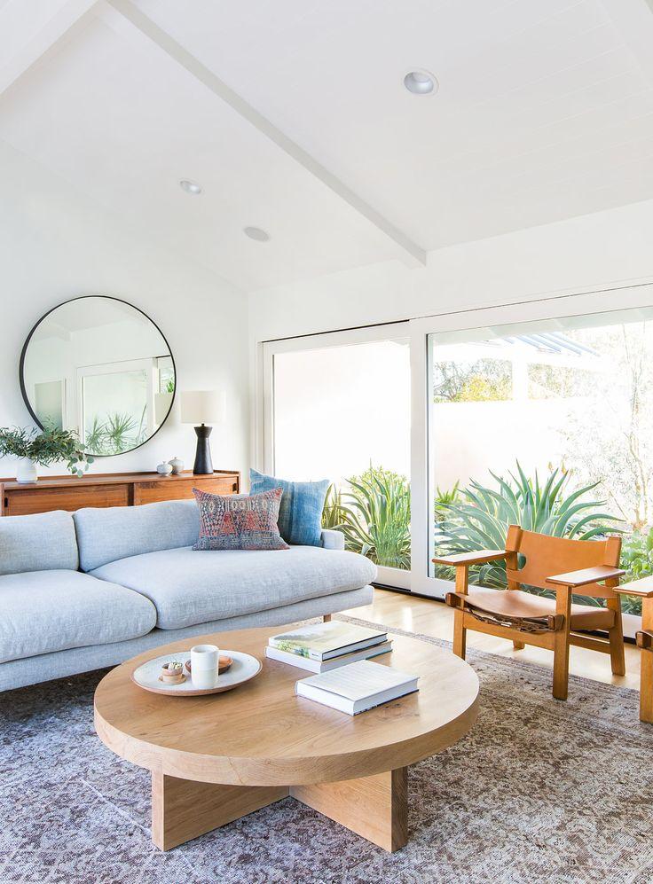 Stunning mid century modern minimalist interior design by amber interior design fres hoom