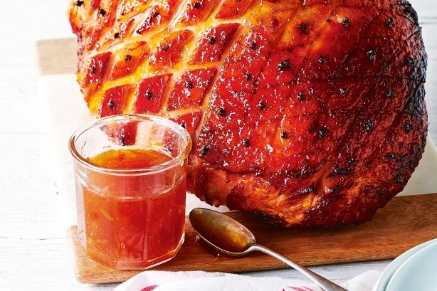 Glaze your Christmas ham with this delicious marmalade and maple syrup recipe.