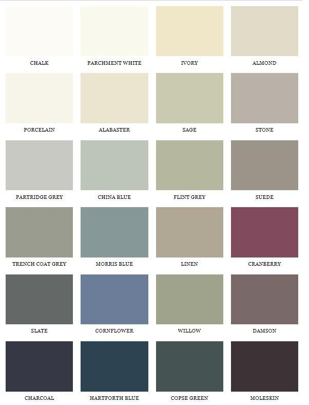 1909 colours