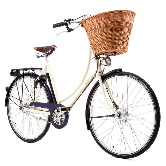 Who doesn't love a classic bike complete with a ding-ding bell? This would get be biking again.