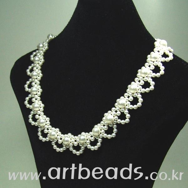 643 best jewelry bead stringing necklaces images on