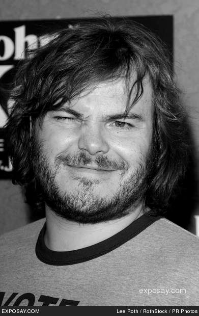 Jack Black, love this man.. hilarious and an amazing voice!!