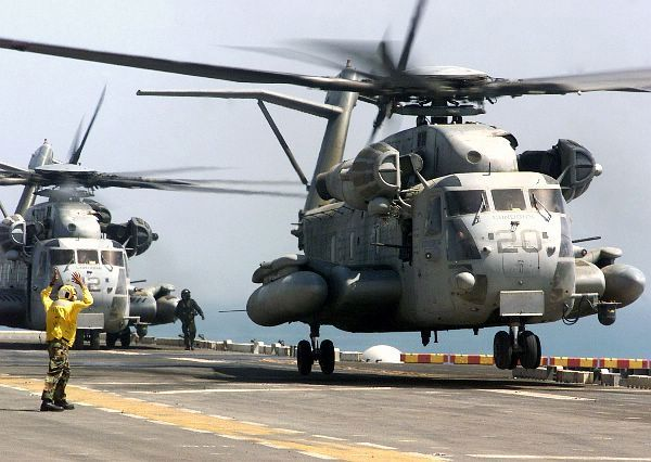 CH-53 Super Stallion 2 - List of active United States Marine Corps aircraft squadrons - Wikipedia, the free encyclopedia