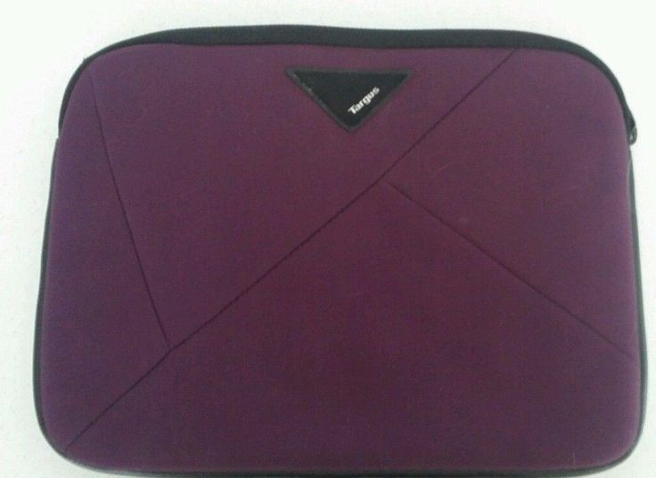 Targus Tablet/electronics protection case 10 inch tablets maroon padded
