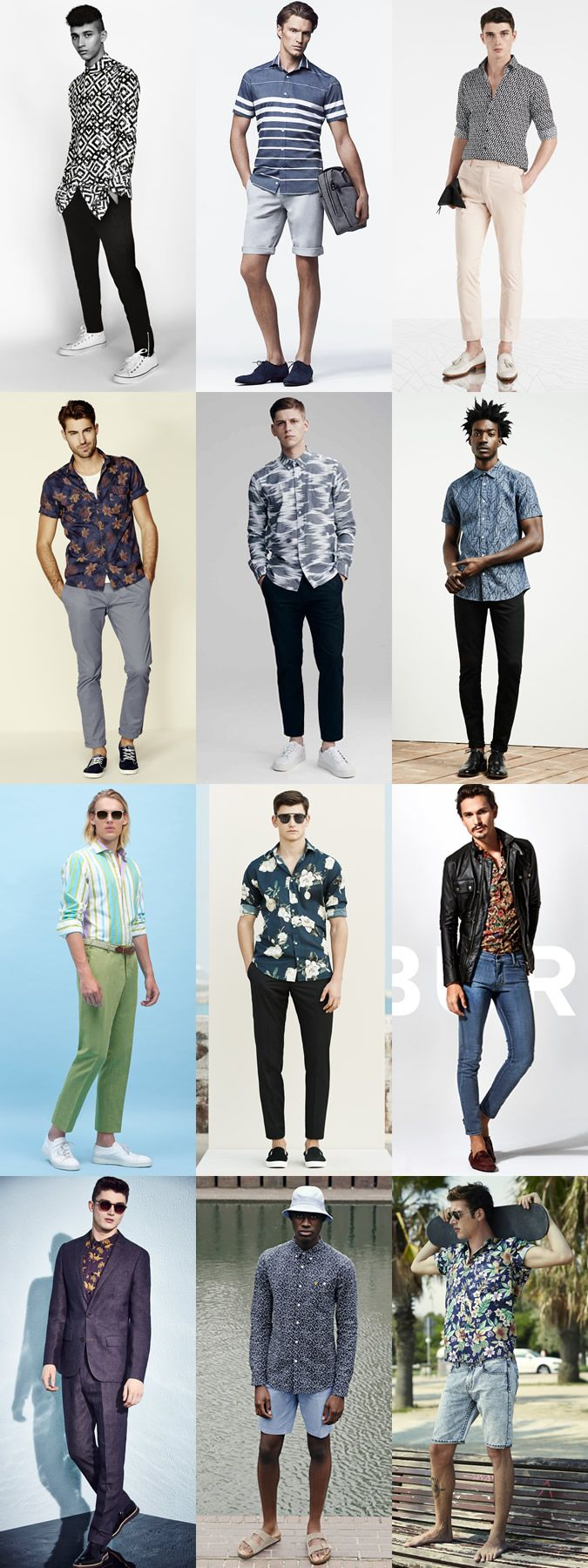 5 Key Menswear Pieces For Spring/Summer 2015 : 2. The Printed Shirt Lookbook Inspiration