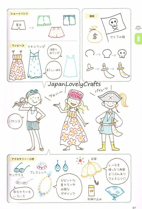 Seasonal Illustration Kamo Japanese Drawing by JapanLovelyCrafts