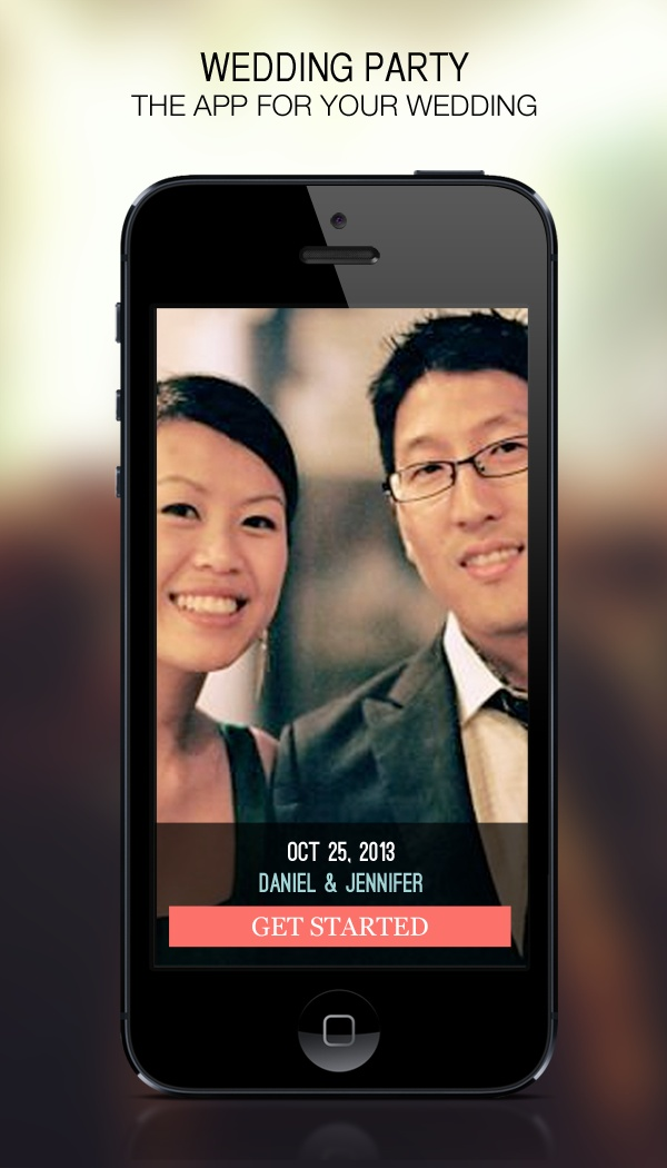 See your wedding through the eyes of your guests! Wedding Party is the FREE app for your wedding day, and will help you collect every photo your guests take!