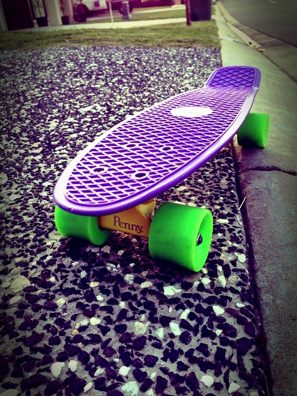 My new fav toy! Beautiful Penny board!