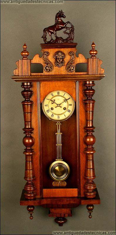 Reloj de Péndulo Junghans, ca.1880-1890.