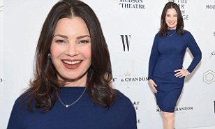 The 59-year-old Nanny star oozed radiance in a figure-hugging blue cocktail dress which showcased her phenomenal physique at the New York City event on Thursday.