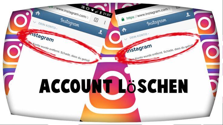 Instagram Account löschen (Handy,deutsch)2017 (Ilik)