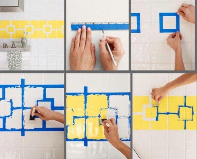 die besten 17 ideen zu fliesen streichen auf pinterest. Black Bedroom Furniture Sets. Home Design Ideas