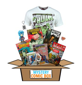Check it out, this is the best Comic Subscription Box!