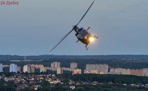 Tři nehody na Rakovnicku: Třikrát musel zasahovat vrtulník