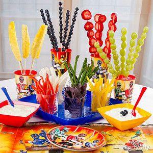 Power Ranger's Birthday Party Ideas