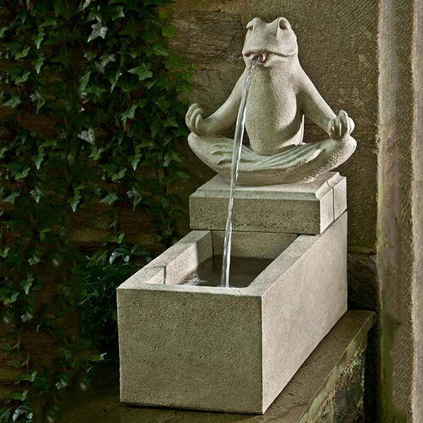 Zen Plinth Outdoor Wall Fountain LFOT202
