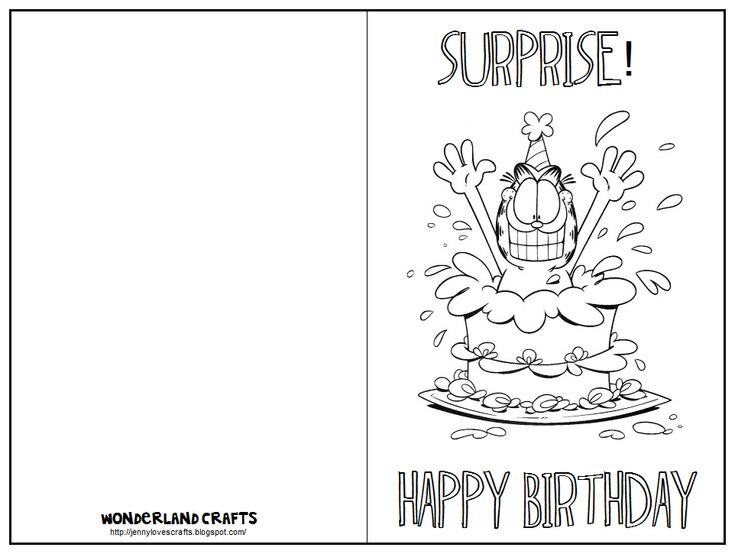 233 best birthday images on Pinterest English language, English - free birthday card printable templates