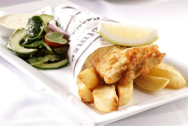 Cassia fish & chips