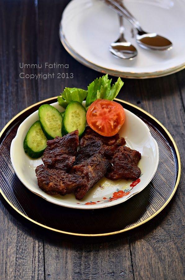 Simply Cooking and Baking...: Empal Gepuk Daging Sapi