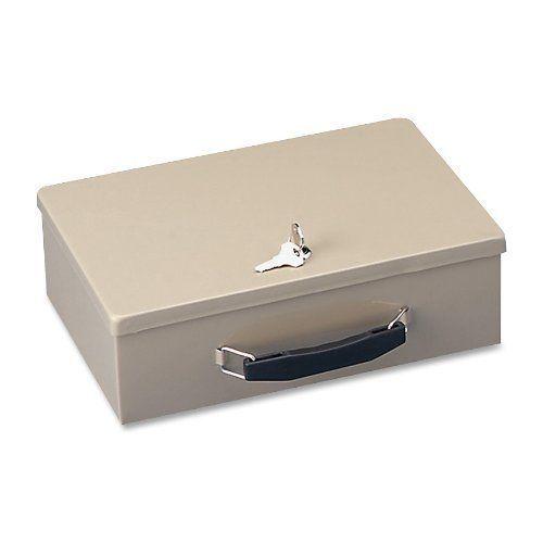 Fireproof Security Safe Steel Box Fire Chest Key Lock Document Cash Storage Case #STEELMASTER