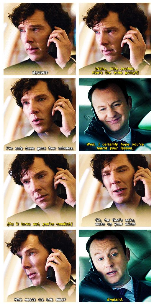 I am sad we did not get to see Sherlock's face when Moriarty popped on screen and back into our lives.