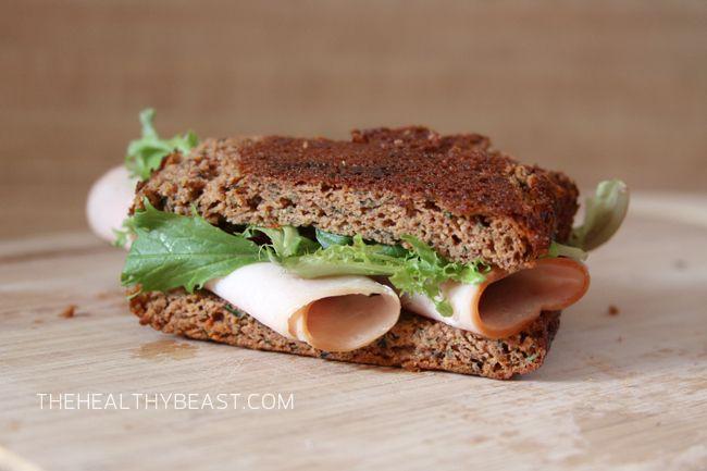 Paleo Zucchini Tomato Bread - great for sandwiches!!!