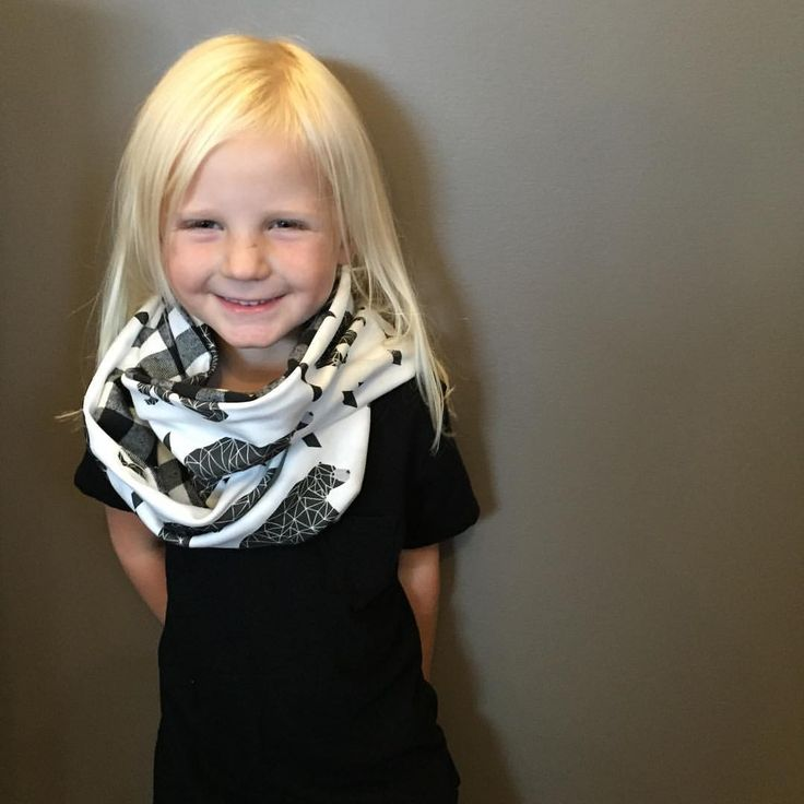 Toddler & baby infinity scarf