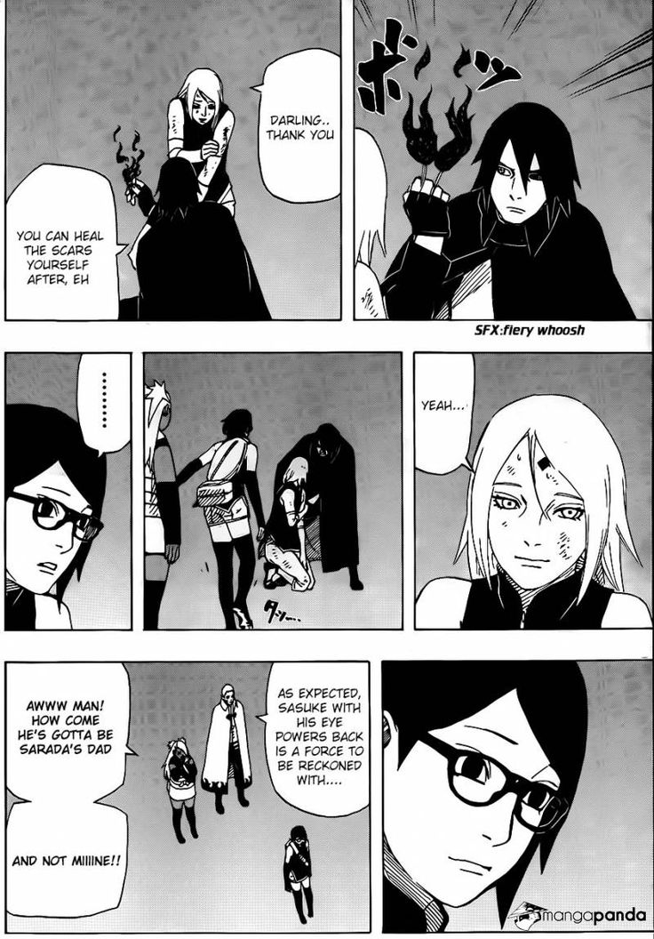 Naruto Gaiden: The Seventh Hokage 9 - Page 8 - AAAAKKK!!! I love the SasuSakuSara family so much!!!